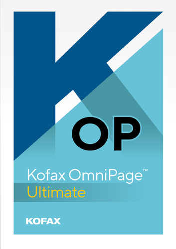 Verpackung von OmniPage Ultimate  [PC-Software]