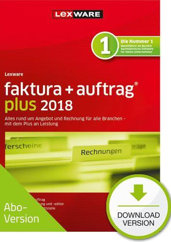 Lexware faktura+auftrag plus 2018 Download - Ab...