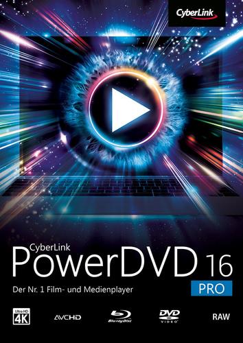 Verpackung von CyberLink PowerDVD 16 Pro [PC-Software]