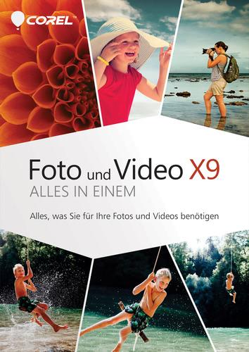 Corel Foto und Video X9 – Alles in einem
