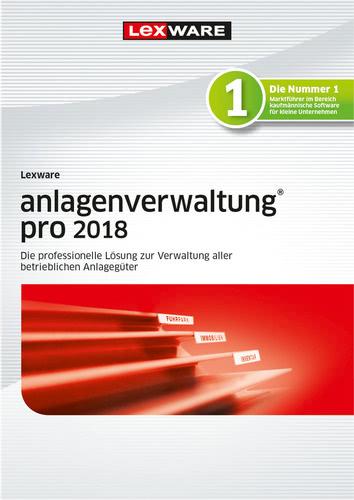 Verpackung von Lexware anlagenverwaltung pro 2018 Jahresversion 365-Tage [PC-Software]