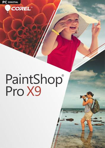 Verpackung von Corel PaintShop Pro X9 [PC-Software]