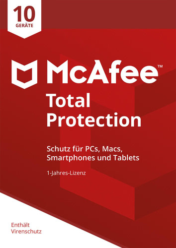 McAfee Total Protection 2018 10 Geräte / 12 Mon...