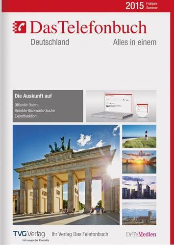 Verpackung von Das Telefonbuch. Deutschland Frühjahr/Sommer 2015 [PC-Software]