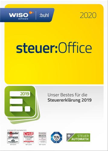 Verpackung von WISO steuer:Office 2020 (für Steuerjahr 2019) [PC-Software]