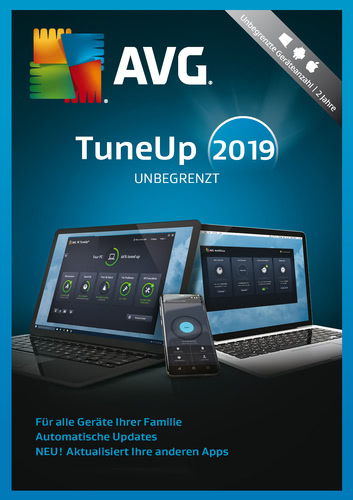 AVG TuneUp 2019 UnlimitedUnbegrenzte Geräte / 24 Monate Laufzeit (Download), Multi