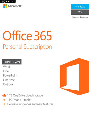Packaging by Microsoft Office 365 Personal [MULTIPLATFORM]