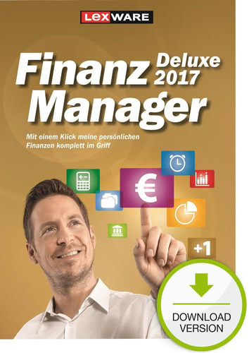Lexware FinanzManager 2017 Deluxe, ESD (Downloa...