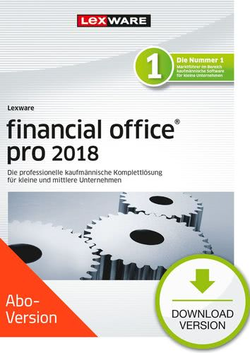Verpackung von Lexware financial office pro 2018 Download - Abo Version [PC-Software]