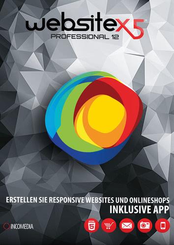Verpackung von WebSite X5 Professional 12 [PC-Software]