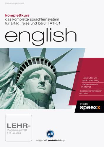 Verpackung von Komplettkurs English [PC-Software]