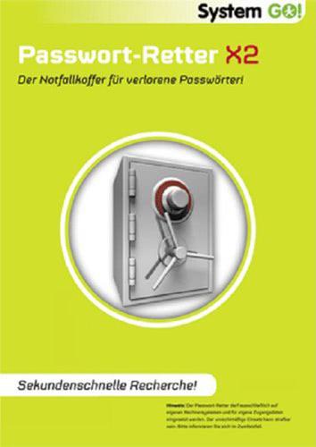 Verpackung von System GO! Passwort Retter X2 [PC-Software]