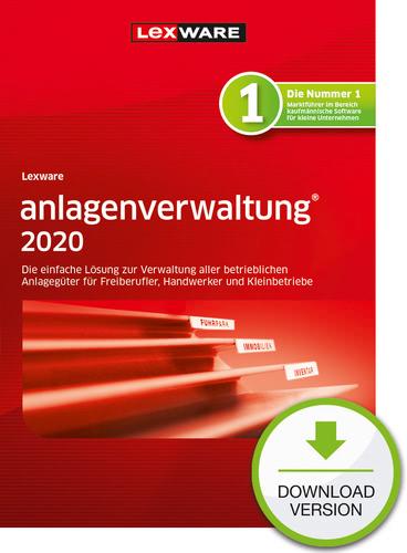 Verpackung von Lexware anlagenverwaltung 2020 - Jahresversion (365-Tage) [PC-Software]