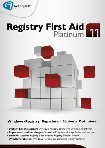 Registry First Aid 11 Platinum, (Box), PC