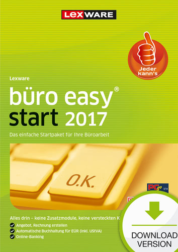 Lexware büro easy start 2017 Jahresversion (365...
