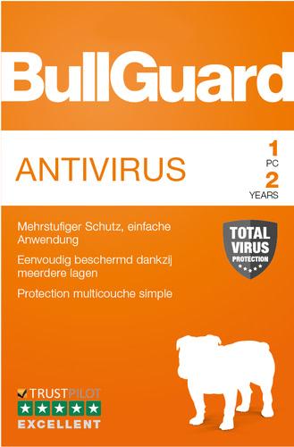 Verpackung von BullGuard Antivirus 2019 1 PC 24 Monate [PC-Software]