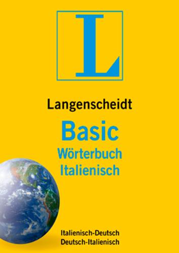 Verpackung von Langenscheidt Basic-Wörterbuch Italienisch [PC-Software]