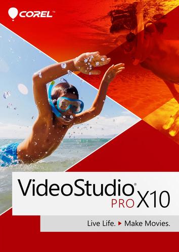 Verpackung von Corel VideoStudio Pro X10 [PC-Software]