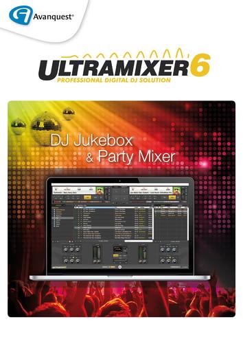 Verpackung von Avanquest UltraMixer 6 Home [PC-Software]