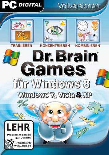 Verpackung von Dr. Brain Games für Windows 8 [PC-Software]