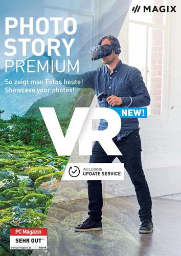 Magix Photostory Premium VR (Download), PC
