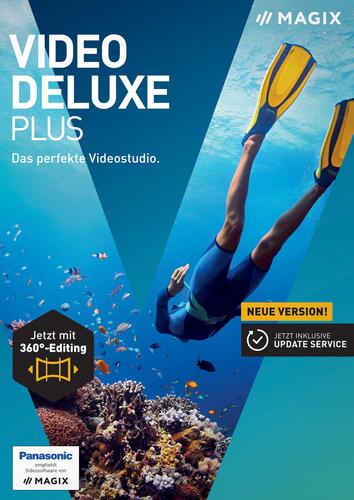 Verpackung von Magix Video deluxe Plus (2017) [PC-Software]