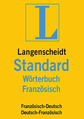 Verpackung von Langenscheidt Standard-Wörterbuch Französisch [PC-Software]