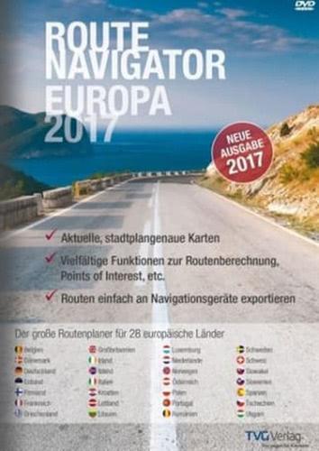 Verpackung von RouteNavigator Europa 2017 [PC-Software]
