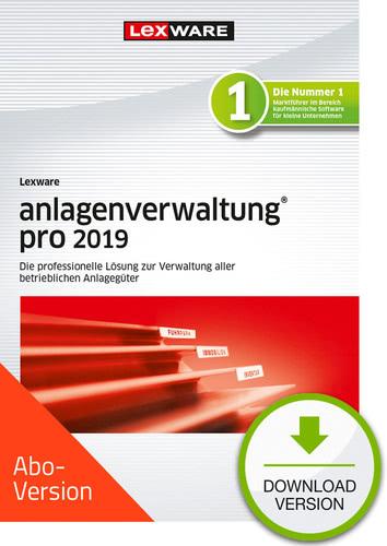 Verpackung von Lexware anlagenverwaltung pro 2019 Download - Abo Version [PC-Software]
