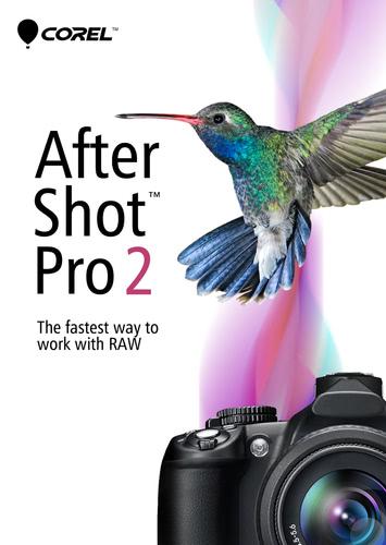 Verpackung von AfterShot 2 Pro [Mac-Software]