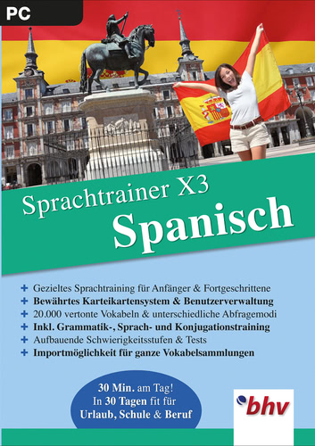 Sprachtrainer X3 Spanisch (Download), PC