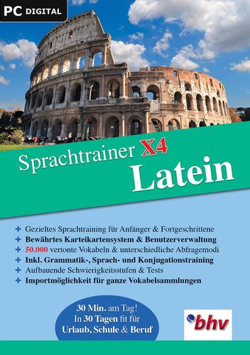 Verpackung von Sprachtrainer X4 Latein [PC-Software]