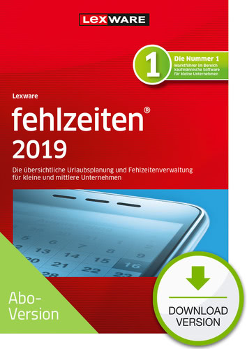 fehlzeiten 2019 Download – Abo Version (Download), PC