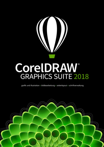 Verpackung von CorelDRAW Graphics Suite 2018 Upgrade [PC-Software]