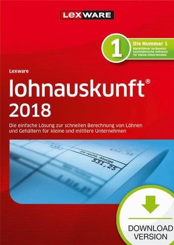 Verpackung von Lexware lohnauskunft netz 2018 Jahresversion (365-Tage) [PC-Software]
