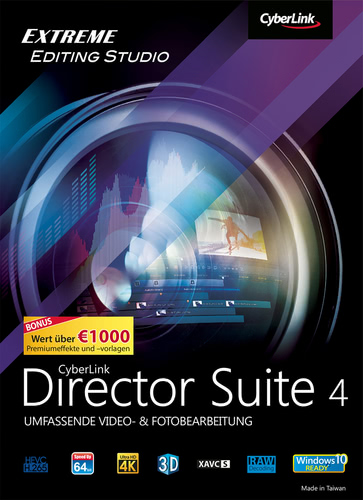 Verpackung von Director Suite 4 [PC-Software]