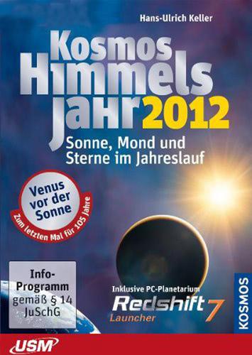 Verpackung von Kosmos Himmelsjahr 2012 [PC-Software]