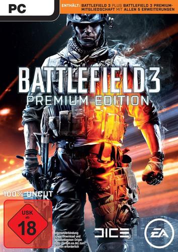 Verpackung von Battlefield 3 Premium Edition [PC]