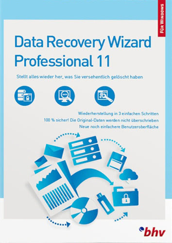 Verpackung von EaseUS DataRecovery Wizard 11 Professional [PC-Software]
