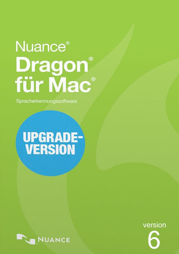 Verpackung von Nuance Dragon Professional Individual 6.0 für Mac - Upgrade von Dragon für Mac 4.0 oder 5.0 [Mac-Software]