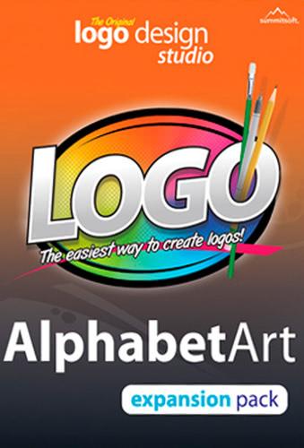 Packaging by Logo Design Studio Expansion Pack: Alphabet Art [PC-software]