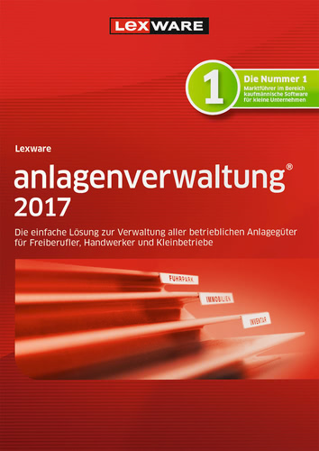 Verpackung von Lexware anlagenverwaltung 2017 Jahresversion (365-Tage) [PC-Software]