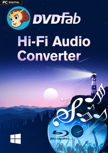 Verpackung von DVDFab Hi-Fi Audio Converter (24 Monate) [PC-Software]