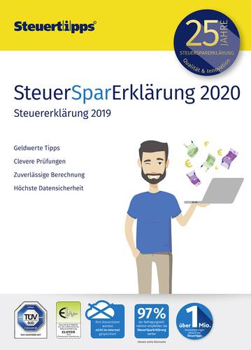 Verpackung von SteuerSparErklärung 2020 (für Steuerjahr 2019) [PC-Software]