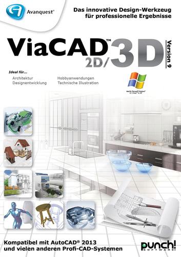 ViaCAD 2D/3D 9, Upgrade