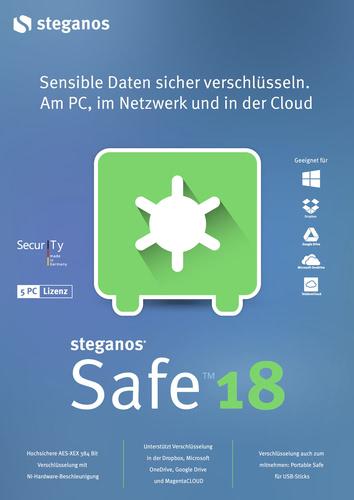 Verpackung von Steganos Safe 18 [PC-Software]