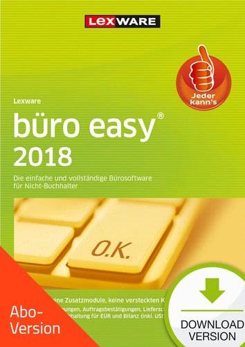 Lexware büro easy 2018 - Abo-Version, ESD (Down...
