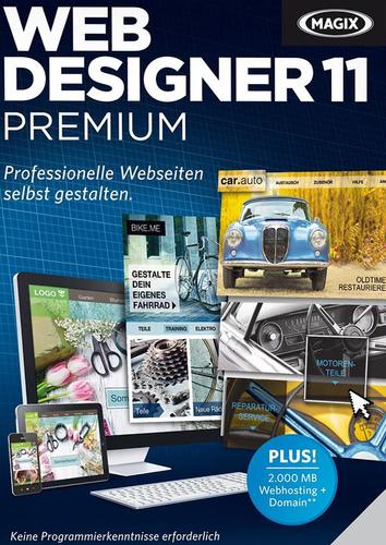 Verpackung von Magix Web Designer 11 Premium [PC-Software]