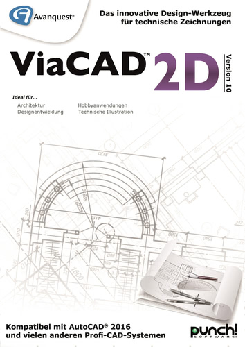 ViaCAD 2D Version 10 (Windows) (Download), PC