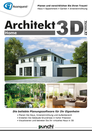 Avanquest Architekt 3D X9 Home